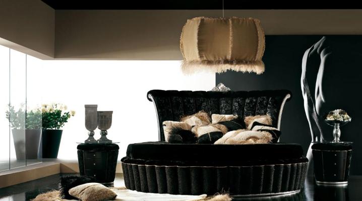 काला बेडरूम डिजाइन