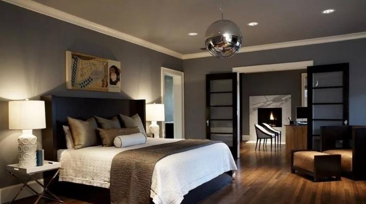 पुरुषों के बेडरूम डिजाइन