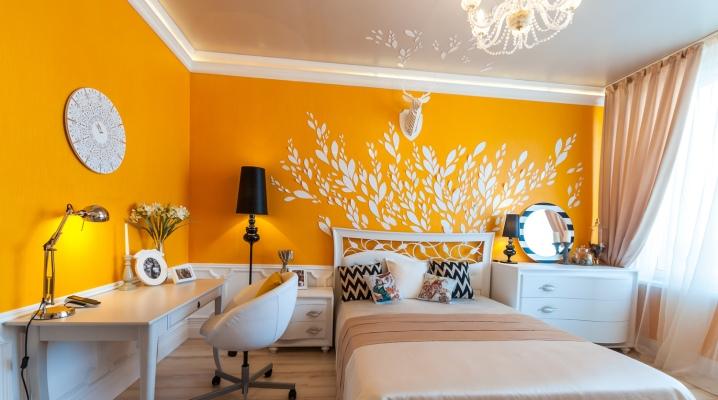 Design sovrum område på 17 kvadratmeter. m