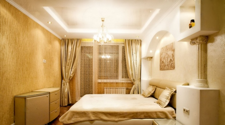 Conception de la chambre à coucher à Khrouchtchev