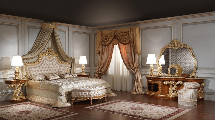 Barokk hálószoba
