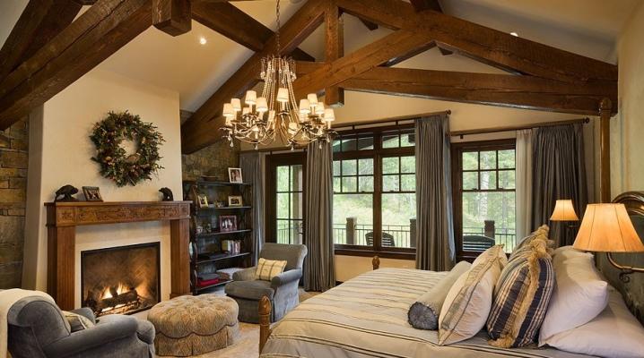 शैलेट शैली बेडरूम