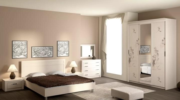 बेडरूम में एक सफेद अलमारी का चयन