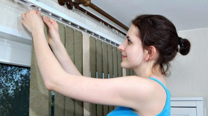Hur tvättar man persienner i hemmet?