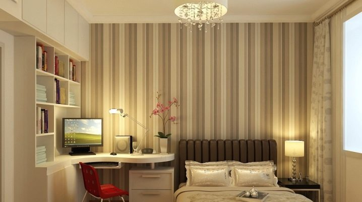 We select the interior for the bedroom office