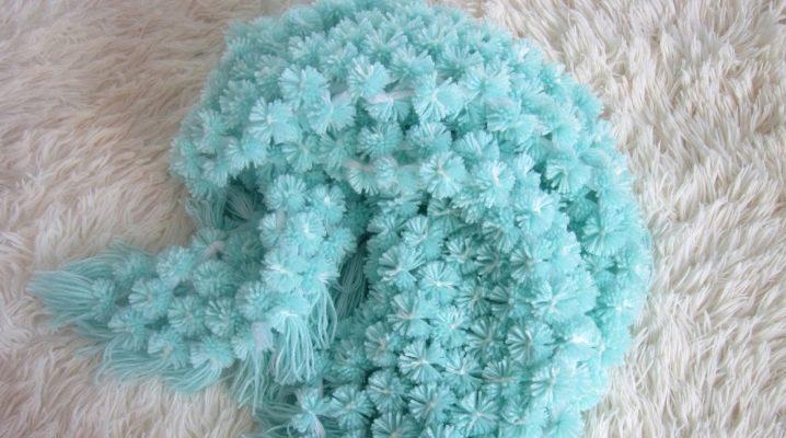 Välja mattor från pompon