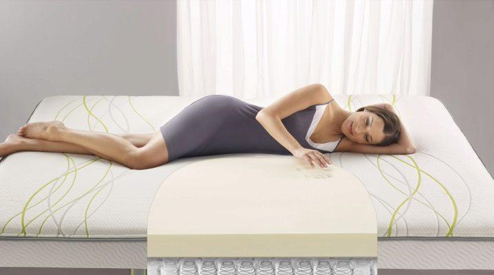Hard orthopedic mattresses