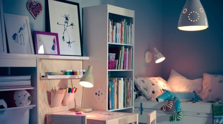 Barnens bordslampor