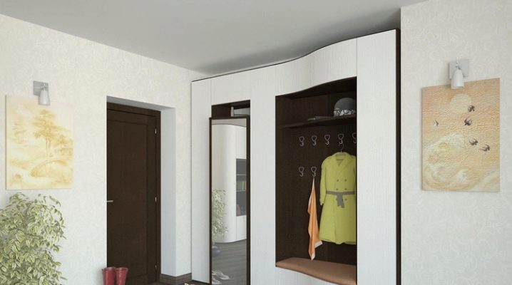 What could be the built-in hallway?
