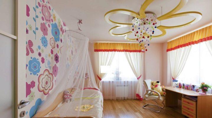 Lampadari Per Ragazze : Lampadari nella stanza dei bambini per la ragazza 38 foto : modelli