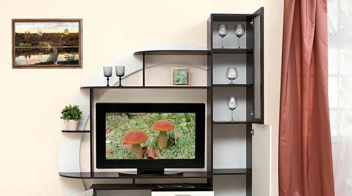 Tv-mini väggar