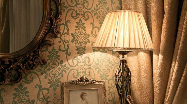 Bordslampor i olika stilar