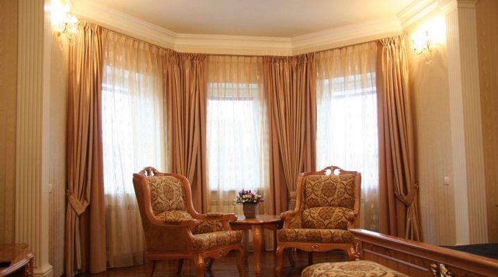 Installation av gardinstänger för gardiner