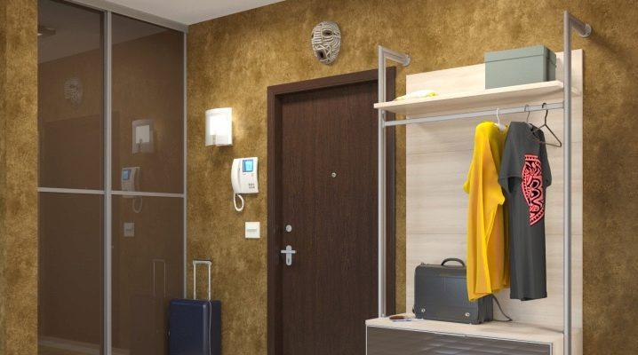Smal garderob: Använd i inredningen