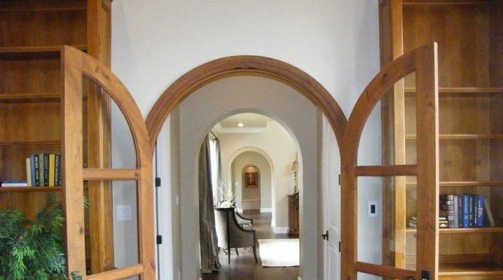 Arch på korridoren: intressanta idéer