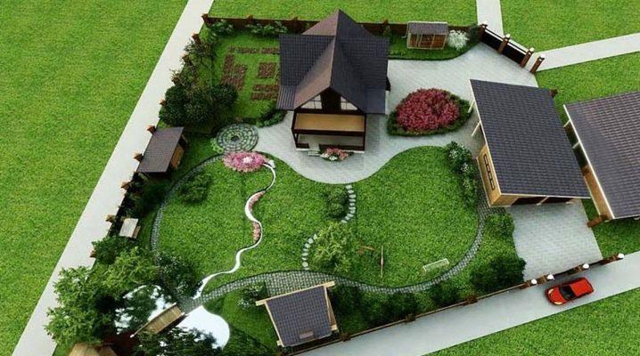 Design förortsområde på 10 hektar