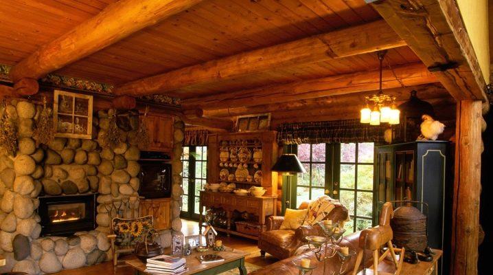 Country house design: skapa en vacker inredning med egna händer