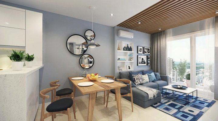 Design of a small apartment: comfort and coziness