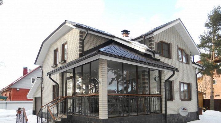Projekt żaluzji w prywatnym domu