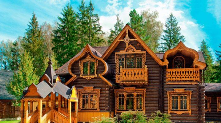 Hus i rysk stil: funktioner i arkitektur och design