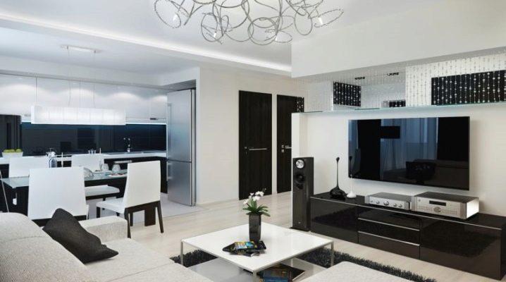 एक 3-कमरे के अपार्टमेंट की योजना बनाने के लिए विचार