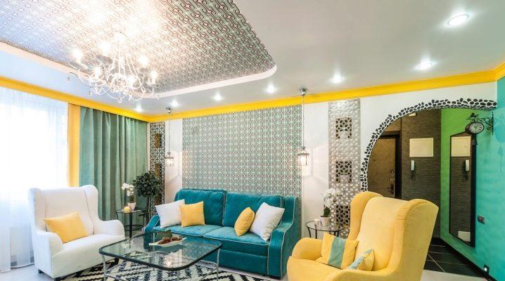 papel tapiz de ladrillo sala de estar ideas La Combinacin Del Color De Las Cortinas Con El Papel Tapiz