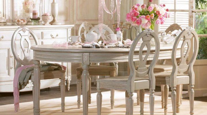 Hur man väljer stolar i stil med Provence?