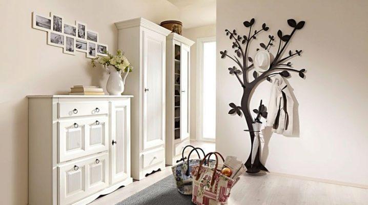 Hur man väljer en vägg trähängare på korridoren?