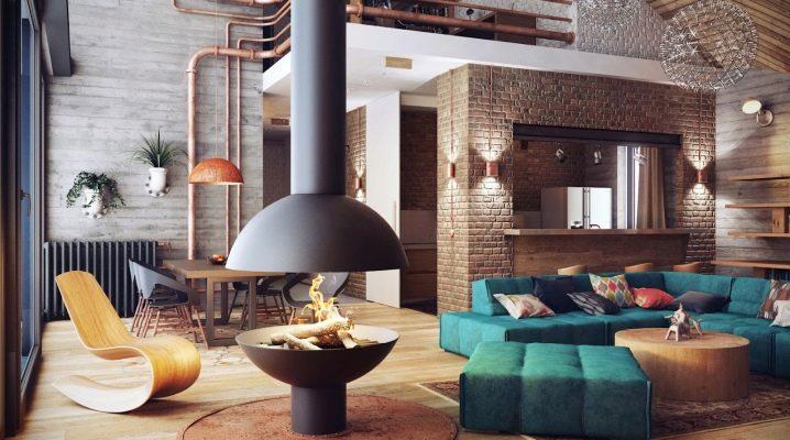 Appartements de style loft: insouciance et ascèse stylée à l'intérieur