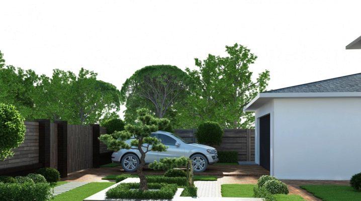 Trendig landskapsdesign för en tomt på 5 hektar