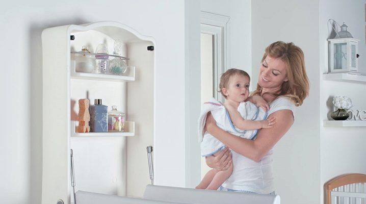Табла за смяна на стена - спестяване на пространство в детската стая