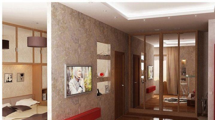 विभिन्न शैलियों में स्टूडियो अपार्टमेंट: डिजाइन के उदाहरण