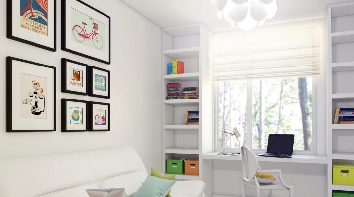 Features of the design room of 15 square meters