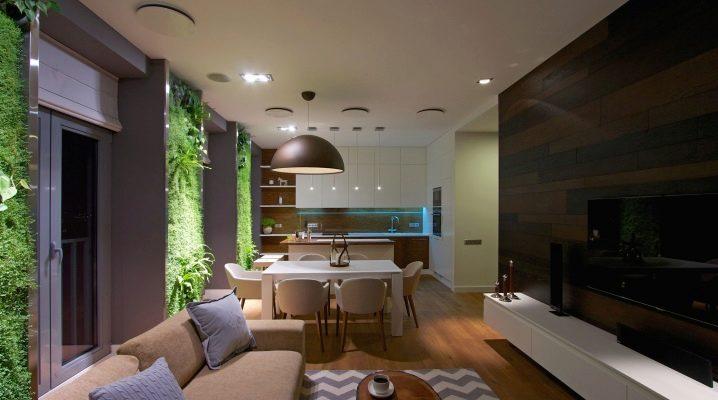 Popular styles in the design of studio apartments