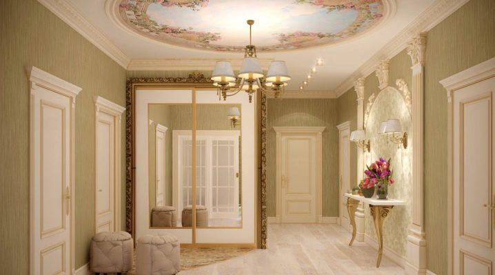 Classic style hallways: rigor and restraint