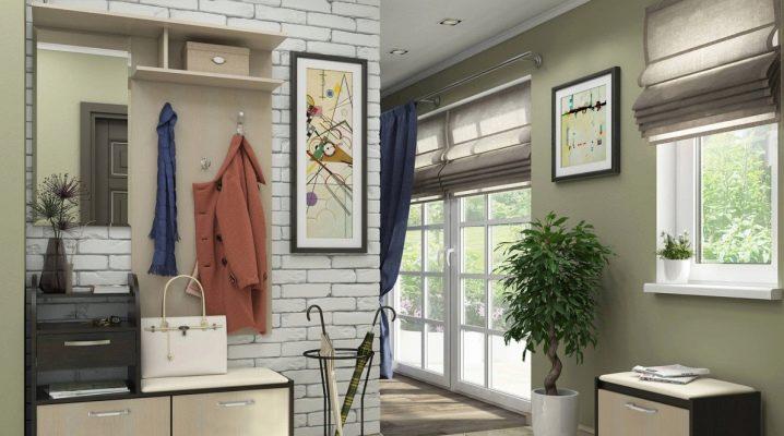 Loft stil hallar: interiör funktioner