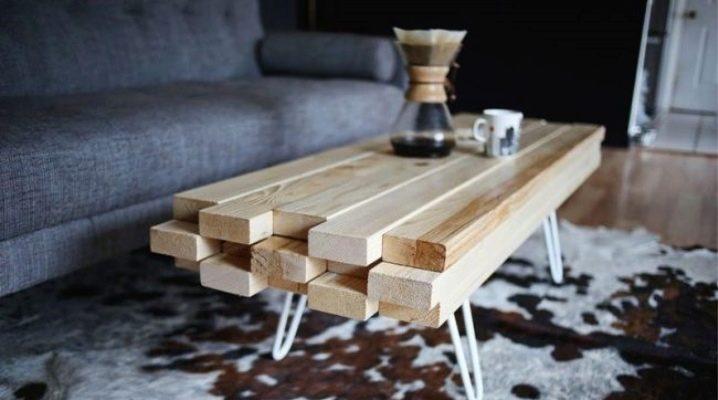Skapa ett träbord med egna händer