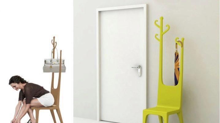 Hanger chair - un détail original pour un appartement compact