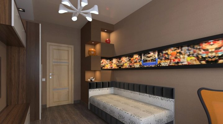 Design options for rooms of 9 square meters