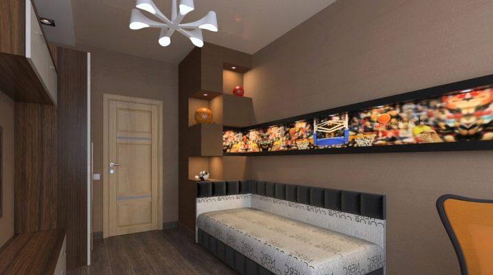 9 वर्ग मीटर के कमरे के लिए डिजाइन विकल्प