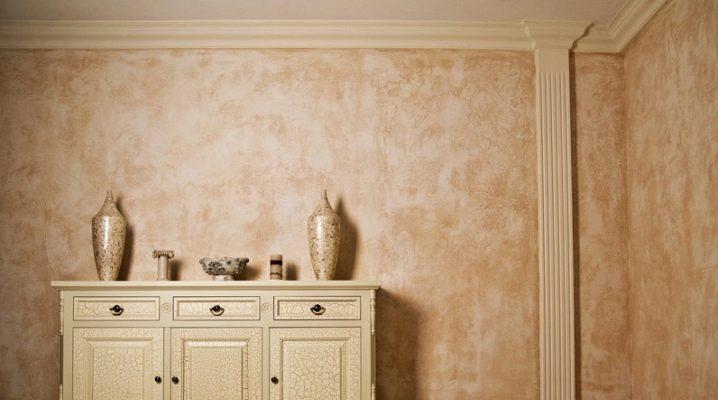 Dekorativ färg för väggar: hur man väljer det bästa?