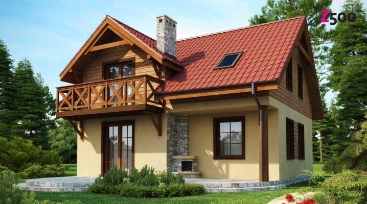Design projekt av huset: design och layout funktioner