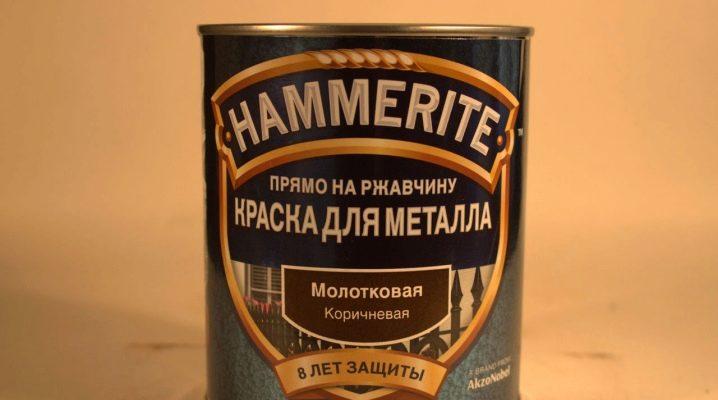 Hur man applicerar hammarfärg på metall?