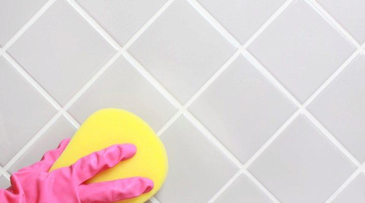 Hur rengörs kakelplattor från lim?