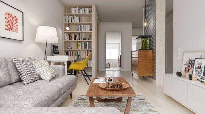 Hur man ordnar ett vardagsrum i skandinavisk stil?