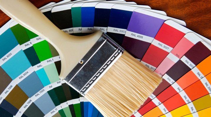 Hur väljer man ett färgschema för akrylfärg?