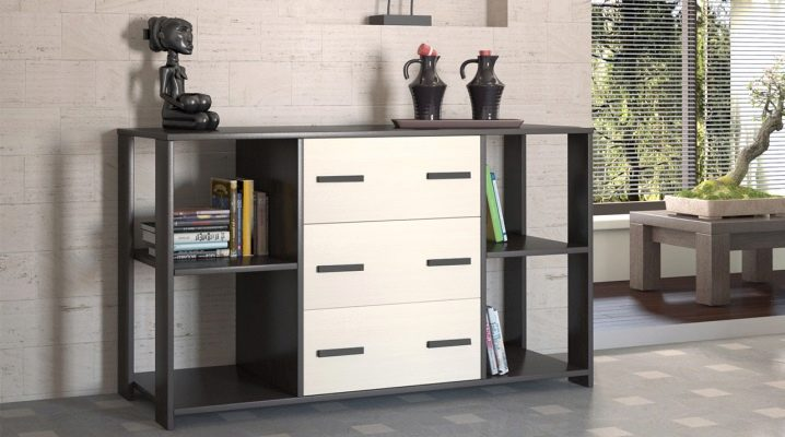 How to choose a chest of drawers in the living room?