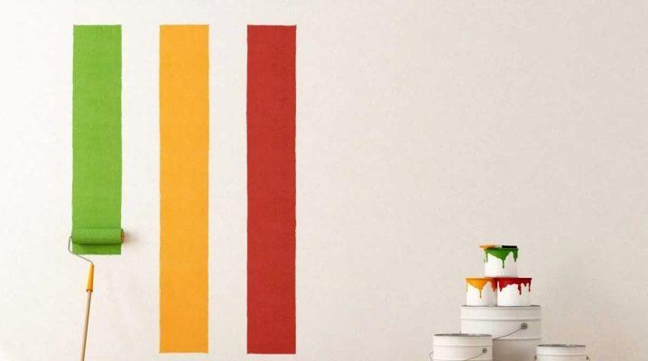Hur målar man väggar med en vals?