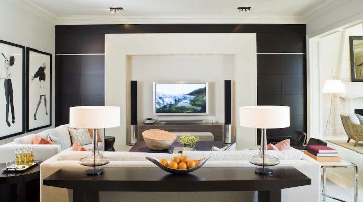 Comment organiser la télévision dans le salon?