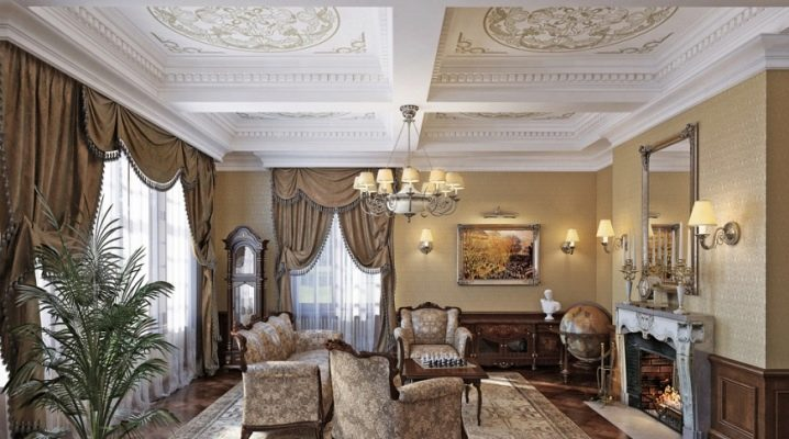 Comment créer un intérieur de salon dans un style classique?